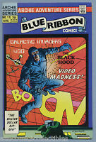 Blue Ribbon Comics #11 1984 Black Hood Dick Ayers Archie MLJ Comics c