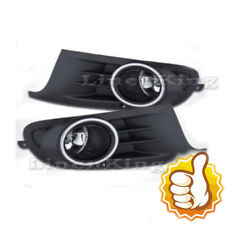 Fog Lights Bumper Lamps Clear For 10-14 Volkswagen VW Golf MK6 FL7113