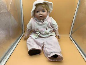 Künstlerpuppe Porzellan Puppe 53 cm. Limitierte Auflage. Top Zustand