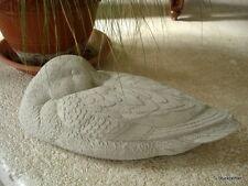 Stucco -Stuck - Gartenfigur - große Ente 40 cm aus Beton für Aussen Garten 7,5kg