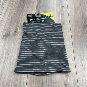 Smartwool Merino Wool Neck Gaiter Sport 150 Graphite New