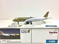 Herpa Wings Gulf Air Airbus A320 1:500 A9C-AM 523042