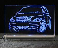 Chrysler PT CRUISER als AutoGravur auf LED Leuchtschild