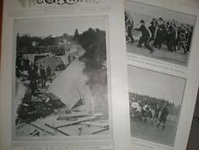 Longchamp Race Course Pari Mutuel Riot Paris 1906