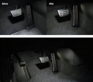 For HYUNDAI 2011- 2013 SONATA I45 GENUINE PARTS SILVER SPORT PEDALS 1SET AUTO