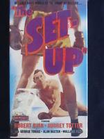 THE SET UP ROBERT RYAN AUDREY TOTTER SEALED VHS