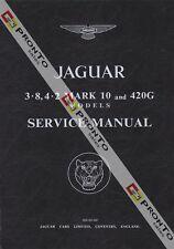 FACTORY WORKSHOP SERVICE REPAIR MANUAL JAGUAR 3.8 4.2 MK 10 & 420G 1961-1969