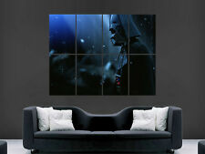 DARTH VADER STAR WARS ART WALL LARGE IMAGE GIANT POSTER """"