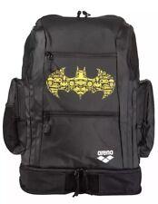 NEW - ARENA Batman Spiky 2 Large Swim Bag Backpack - BLACK