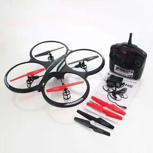 Drone Acrobático 6 Ejes 2.4GHZ X-Abejón 40 Cm. 4 Canales Giroscopio cod.29066