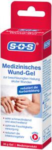 SOS Medizinisches Wund-Gel | reduziert die Narbenbildung | bei Wunden |Medizinp.