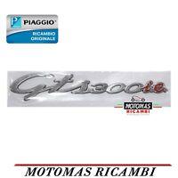 TARGHETTA SCRITTA LATERALE VESPA GTS 300 IE ORIGINALE PIAGGIO 656238