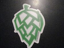 MONKISH BREWING foggy window feminist hop cone STICKER decal craft beer brewery