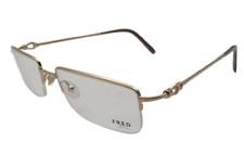Fred Lunettes 140 Force 10 EVO N1 006 Gold Plated Design Eyeglass Frame/Glasses