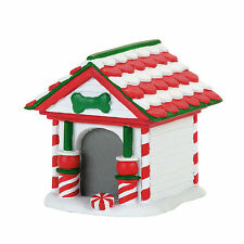 Dept 56 Peppermint Dog House Accessory 2017  NEW Department 56  D56 4057593