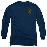 Batman Arkham Knight GOTHAM POLICE BADGE Licensed Long Sleeve T-Shirt S-3XL