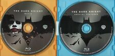 THE DARK KNIGHT BLU-RAY MOVIE DISC + BONUS SPECIAL FEATURES DISC~HEATH LEDGER