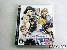 Tales of Vesperia Playstation 3 Japanese Import PS3 Japan JP US Seller B