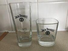 Jack Daniels Old No 7 Highball & Tumbler Glasses