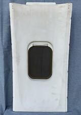 Lockheed L1011 Tristar 500 Window Side Panel Covered Synthetic Calf Skin/Suede