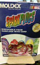 Moldex 6654 Sparkplugs Foam Ear Plugs, Corded (Pack of 100)