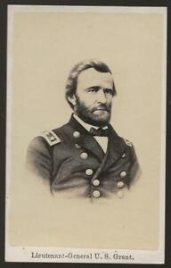 Civil War CDV Union General US Grant