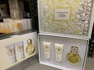 Eros Pour Femme Perfume by Gianni Versace 1.7 oz EDT for Women gift set