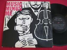 """RARE PRIVATE JAZZ LP - PUREX PRESENTS """"MUSIC MINUS ME"""" - ELMER BERNSTEIN  BOYELL"""