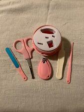 Baby Nail Care 5 Piece Set Cutter Scissors Clipper Manicure Pedicure Kit Gift