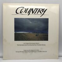 CHARLES GROSS - ORIGINAL SOUNDTRACK - COUNTRY - WINDHAM HILL LP VINYL RECORD VG+