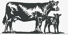 DXF For CNC Plasma Router Laser Cut DXF CDR Vector Files - Cow