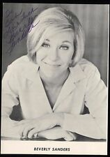 Beverly Sanders Signed Photo  Autographed AUTO Vintage Arm and Hammer