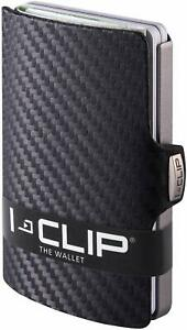 Portafoglio per tessere I-CLIP carbon, Portatessere effetto fibra di carbonio