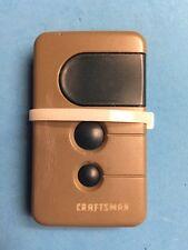 Craftsman 3 Blue Button Garage Door Opener 139.53681B Remote Control w/ Battery