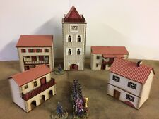 'NEW RELEASE' 28mm Spanish/Italian Prepainted building kits SET B