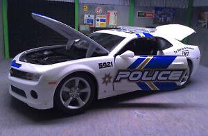 Chevrolet Camaro SS Police 1:18 Diecast Model Car Maisto Flawed Read Please
