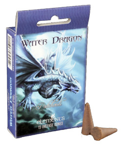Age of Dragons 'Water Dragon' Incense Cones by Anne Stokes - Insence! (C104)