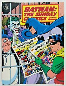 BATMAN THE SUNDAY CLASSICS SOFTCOVER 1943 - 1946 * 1st Printing 1991
