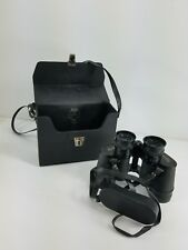 Vintage Sears Model 2511 Binoculars w Case 7 X 35 MM Wide View  Good Condition A