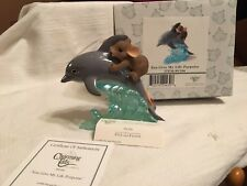 "Charming Tails ""You Give My Life Porpoise"" Dean Griff Nib"