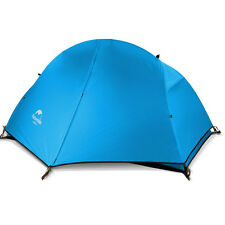 Camping Hiking Equipment 1 Person Waterproof Tent Ultralight Backpacking Tent