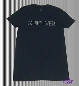 New Quiksilver Thin Mark Mens Black T-shirt