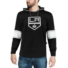 Los Angeles Kings Adidas Mens Platinum Long Sleeve Jersey Hoodie Sz Small