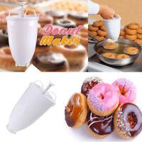 1xPlastic Doughnut Pastry Maker Machine Mold Kitchen DIY Baking Tool Easy To Use