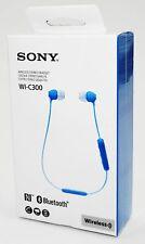 Sony WI-C300 - blau - kabelloser In-Ear Kopfhörer - NFC + Bluetooth Neu & OVP