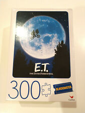 ET MOVIE POSTER 300 PIECE PUZZLE Blockbuster Video Retro 80'S NEW