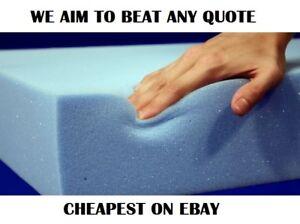 High Density Foam Upholstery Cushions - Bespoke Cutting Service