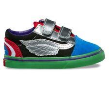 Vans x Marvel Avengers Toddler Size 4.5 OldSkool Shoes Multi Color *NIB