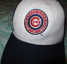 South Bend Cubs Minor league Baseball Cap Adjustable Hat Ad free Chicago NWOT
