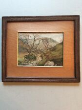 Antique framed watercolour - Lochearnhead, J Dalziel 1887